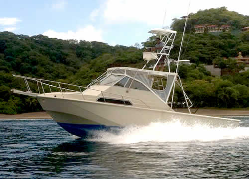 Papagayo charter boat the Captain Nayo