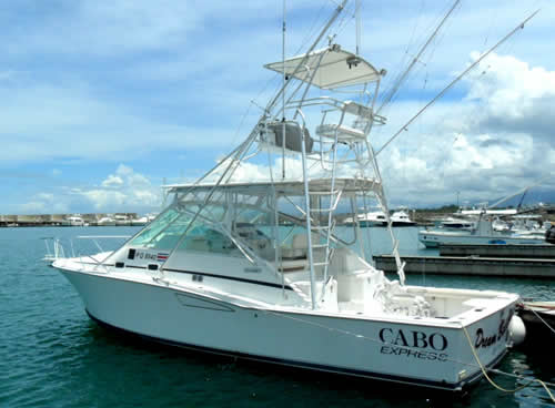 Papagayo charter boat the Victory, cabo express